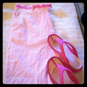Lilly Pulitzer women's walking shorts with pockets